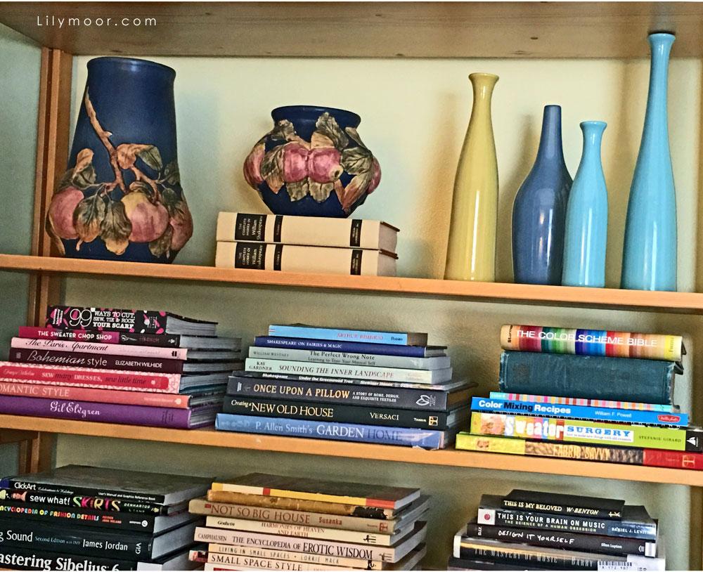Roseville, Haeger, and books